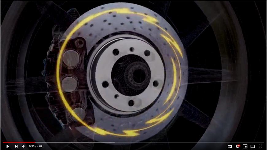 Проблема комфортности торможения глазами Porsche